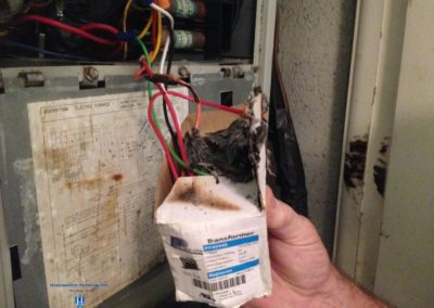 HWSE - Air Handler - Burned Transformer