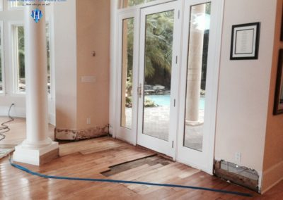 HWSE - Water Damage In Mediterra Home